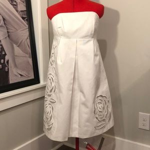 White Lilly Pulitzer strapless dress